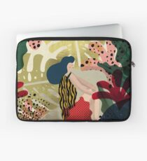 Relaxed In Jungle Laptop Sleeve