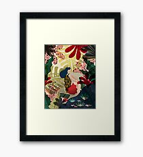 Relaxed In Jungle Framed Print