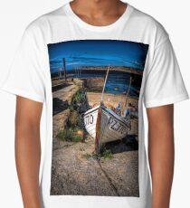 BEACHED IN SENNEN COVE Long T-Shirt