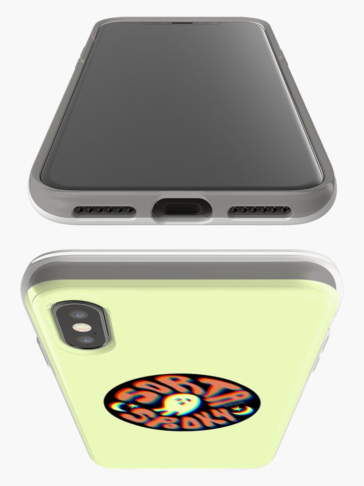 Alternate view of Sorta Spooky 3D iPhone Case & Cover