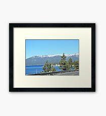 Road to Tahoe Framed Print