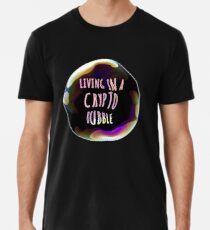 CRYPTO BUBBLE Men's Premium T-Shirt