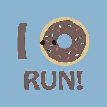 I Donut Run by Eggtooth