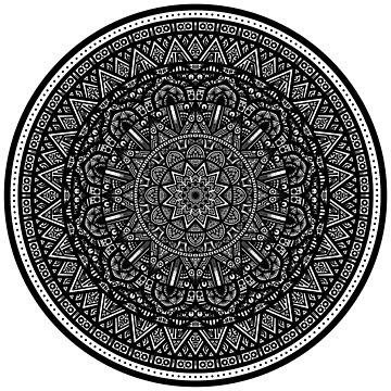 Another digital mandala by bobblehead1337