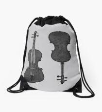 Violin Drawstring Bag