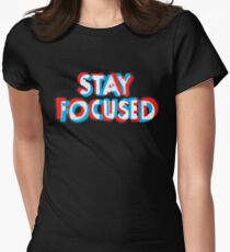 Stay Focused Women's Fitted T-Shirt