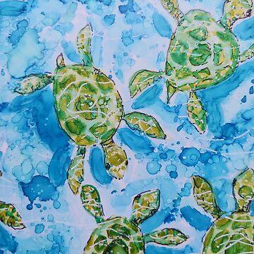 Turtle Pool by GlennArt
