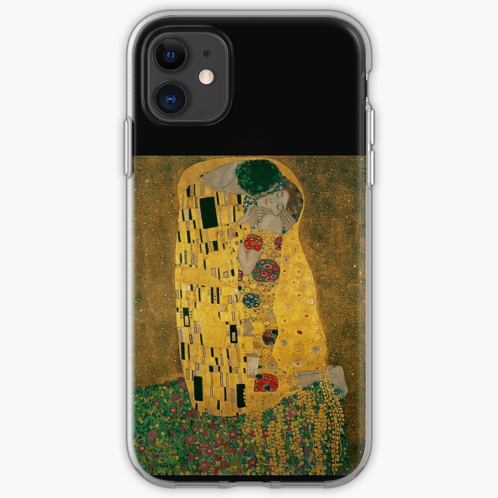 The Kiss... 1908, by Gustav Klimt iPhone Case & Cover