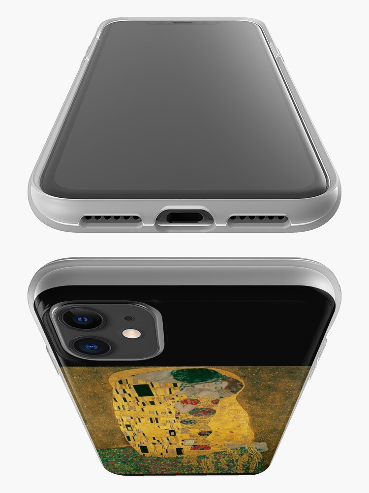 Alternate view of The Kiss... 1908, by Gustav Klimt iPhone Case & Cover