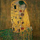 The Kiss... 1908, by Gustav Klimt by edsimoneit