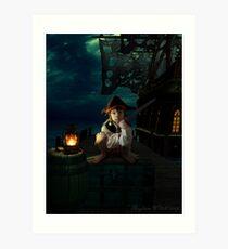 Yo Ho, A Pirates Life for Me Art Print