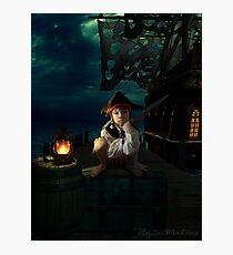 Yo Ho, A Pirates Life for Me Photographic Print