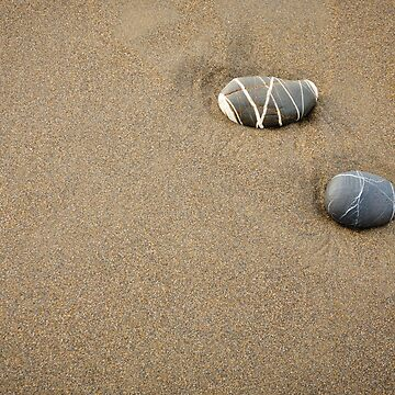Pebbles in the Sand - 1 by heidipics