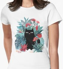Popoki Womens Fitted T-Shirt