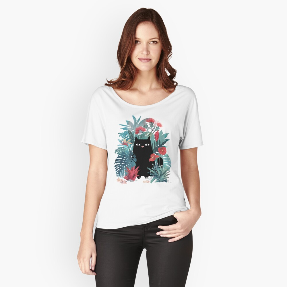 Popoki Loose Fit T-Shirt