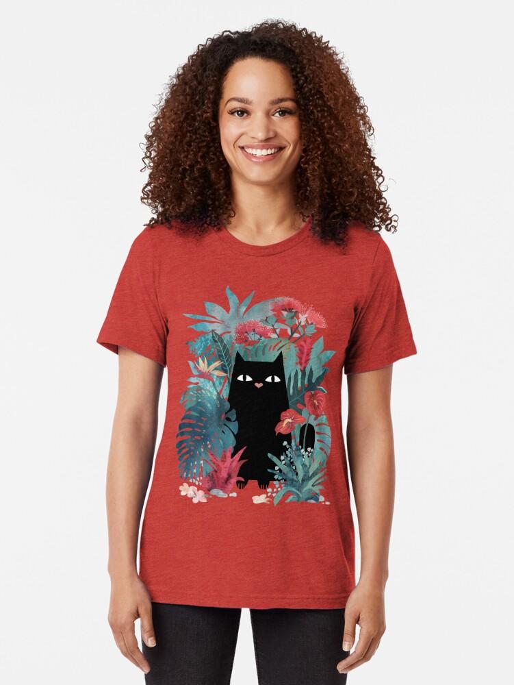 Alternate view of Popoki Tri-blend T-Shirt