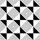 abstraktes Muster von Stefanie Keller