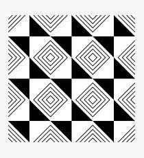abstraktes Muster Fotodruck
