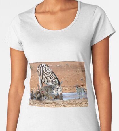 AFRICAN WILDLIFE - SHARE AND SHARE ALIKE ! Women's Premium T-Shirt