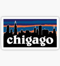 Chicago Patagonia Sticker