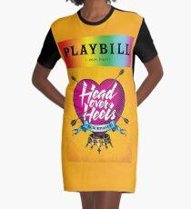 Head Over Heels Pride!  Graphic T-Shirt Dress