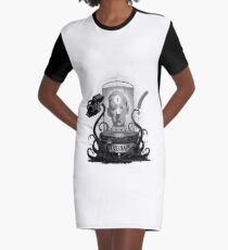 Acursed Inspiration Graphic T-Shirt Dress