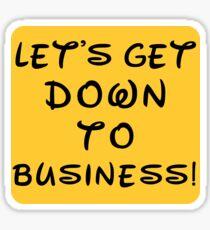 Let's get down to business! | Disney's Mulan  Sticker