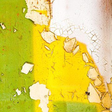 Peeling Paint Art - 5 by heidipics