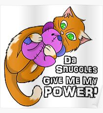 Kitty Power Snuggle Poster