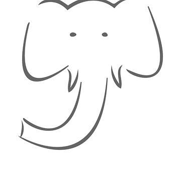 Elephant by Pferdefreundin