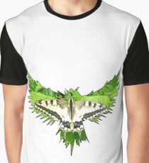 Eagle or Butterfly Graphic T-Shirt