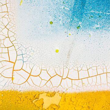 Peeling Paint Art - 1 by heidipics