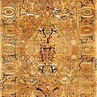Antique Czartoryski Persian Carpet  by Vicky Brago-Mitchell