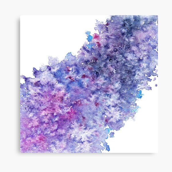 Watercolor Splash II Canvas Print