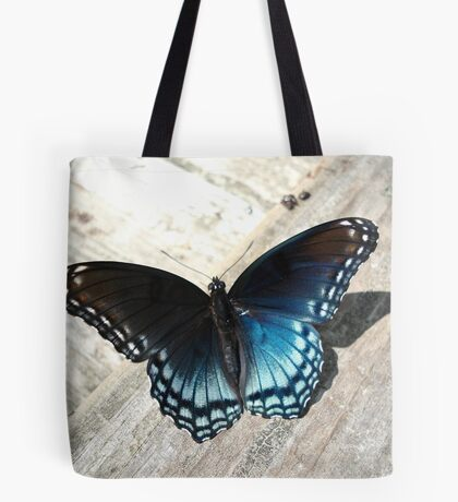 Red-Spotted Purple Butterfly Tote Bag