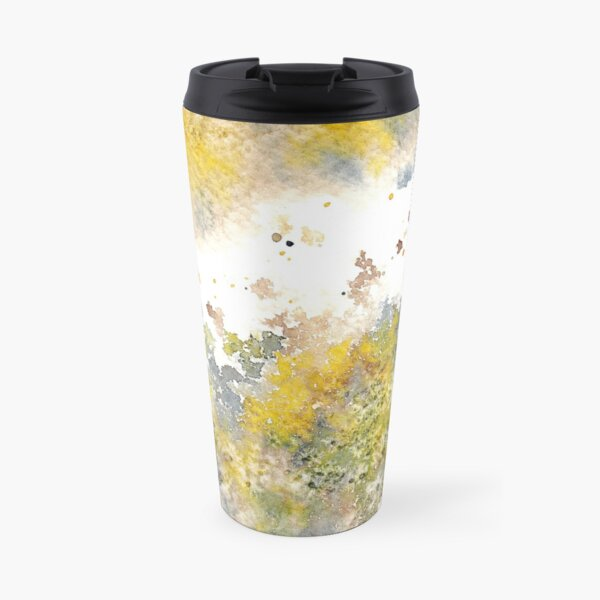 Watercolor Splash IV Travel Mug