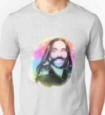 Camiseta ajustada Retrato del arco iris de Jonathan Van Ness