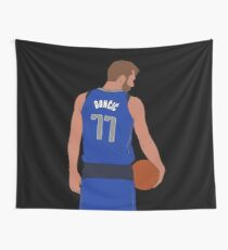 Luka Dončić Mavericks Wall Tapestry
