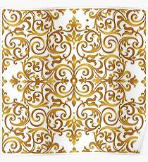 Golden Decor Poster