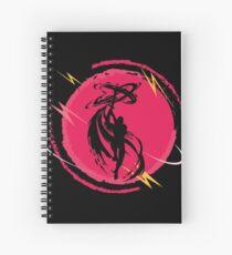 Ninja Shadow Warrior Fighter Fantasy Art  Spiral Notebook