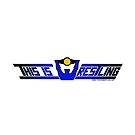 This Is Wrestling Logo Black Border 2 by Grizzlybooker