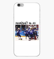 Mira(girl) on ice iPhone Case
