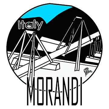 Morandi Bridge Italy Design by GTARTLAND
