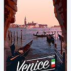 Venice Travel Poster by CallumGardiner