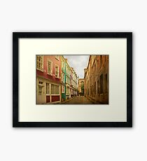 Wrapped in warmth Framed Print