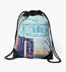 Snowstorm Drawstring Bag