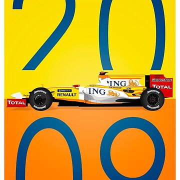 Fernando Alonso's 2009 R29 by ICRDesigns