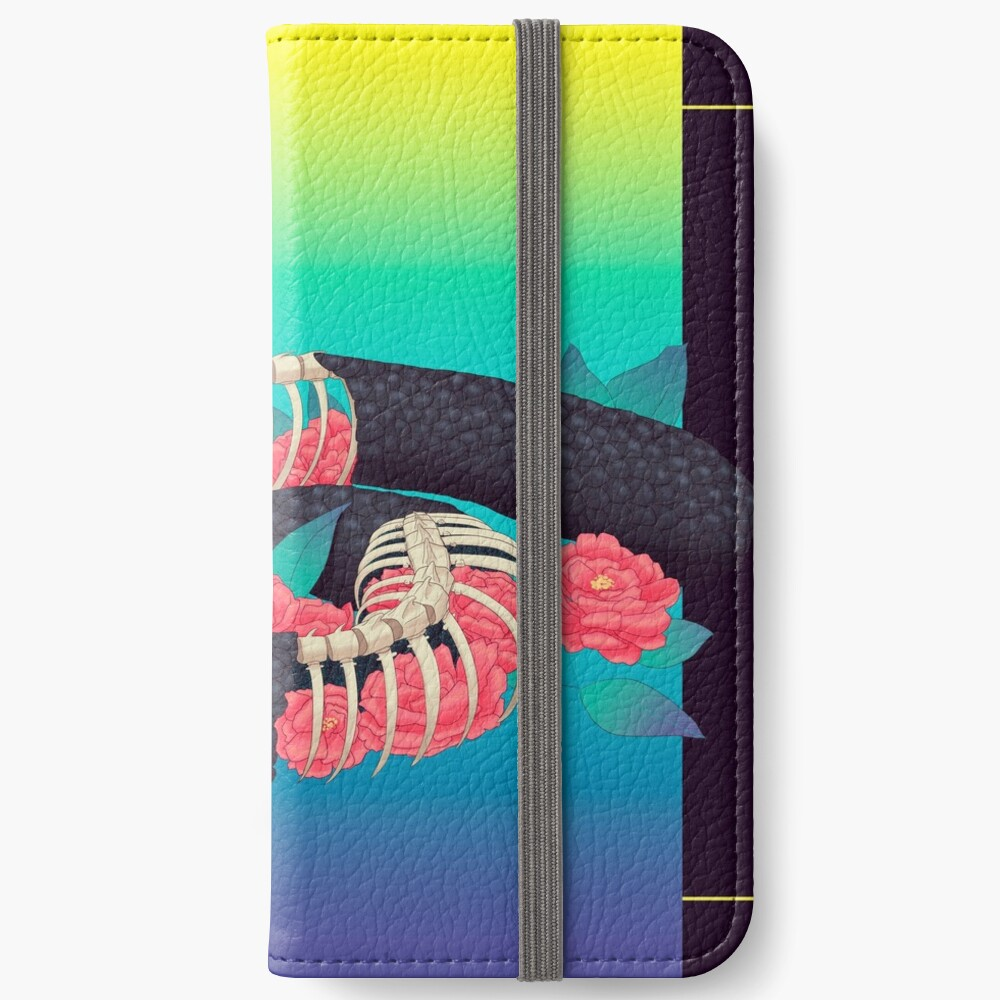 Asche zu Asche iPhone Flip-Case