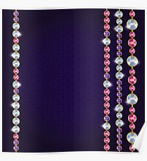 Jewelry necklace  Poster