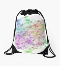 The Graph Of Ice Hockey Players Drawstring Bag